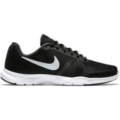 Chaussures fitness femme noires blanches Nike Flex, Baskets Nike, Decathlon, Sneakers Nike, Life, Fashion, Nike Tennis, Black And White, Hs Sports