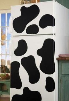 cow spot removable vinyl decals