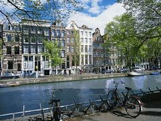 Ambassade Hotel: The 17th-century canal-side houses on the distinguished Herengracht in the historic center of Amsterdam form these stylish accommodations.