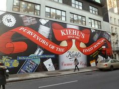 Beautiful Kiehl's store placeholder