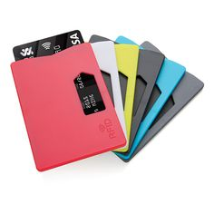 RFID cardholder. This single cardholder is designed to block RFID readers from scanning your identity, credit cards, debit cards, banking Information, smart-cards, RFID driver's licenses and other RFID cards.
