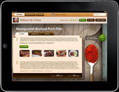 Indie Cooking iPad app - Ben Cline // Creative Direction & Design