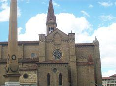 Uscendo dalla stazione...Santa Maria Novella