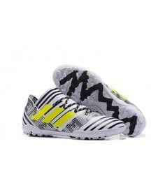 b143a3af189e Adidas Nemeziz 17.3 TF NA UMĚLÝ POVRCH ACC černá bílá žlutý kopačky