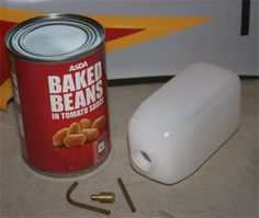 Beans MeanZ .......fuel tanks By Graeme Dean You wouldn't throw away a perfectly good fuel tank would you?  I'm not sure if I am the only one who suffers leaks from around the bung in the front of the popular plastic types of tank available from most hobby shops. Perhaps I'm heavy-handed with the screwdriver when tightening the centre screw to seal the tank, but in most cases the damn thing will leak at some point.....Click on the picture for the full feature.