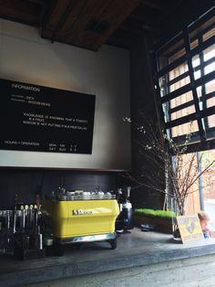 """La Marzocco espresso machine: """"The Ferrari of espresso machines!"""""""
