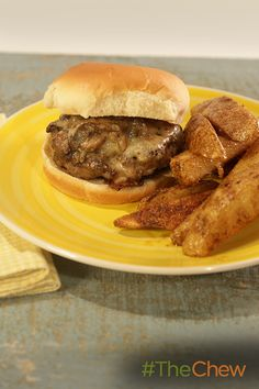 This Swiss Horseradish Mushroom Burger with Roasted Potato Wedges packs a punch of flavor. Thanks to our social media fan Char for the delicious recipe!