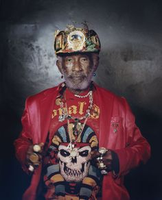 Lee Scratch Perry 'Before' www.katepeters.co.uk