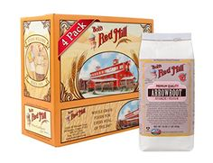 -- Limited discounts available now: Bob's Red Mill Arrowroot Starch / Flour, 16-ounce (Pack of 4) at baking desserts recipes.