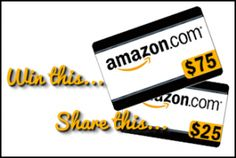 Mission Giveaway CouponCodes4U – Win $100 Amazon ends 10/12