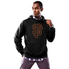 San Francisco Giants Majestic Scoring Position Hoodie - Black - $47.99