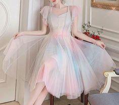 Gauze Dress, Mesh Dress, Dress Up, Kpop Fashion, Lolita Fashion, Daily Fashion, Korean Street Fashion, Asian Fashion, Aesthetic Fashion