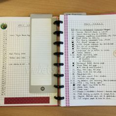Bullet Journalling by Violetsteel