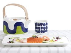 The fresh and harmonious designs of the Marimekko for Finnair collection of tabl. The fresh and harmonious designs of the Marimekko for Finnair collection of tableware and textiles Marimekko, Nordic Design, Modern Design, Textiles, Scandinavian Style, Nordic Style, The Fresh, Contemporary Furniture, Floral Prints