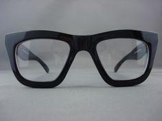hotest eyewear for2013   50's Vintage Thick Black Retro Eyeglasses Clear Glasses for Men 1387A ...