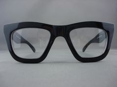 hotest eyewear for2013 | 50's Vintage Thick Black Retro Eyeglasses Clear Glasses for Men 1387A ...