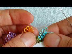 Video Cekimi çok istenilen çok güzel bir igne oyası modelin anlatımlı yapılışı - YouTube Needle Lace, Crochet Stitches, Diy And Crafts, Turquoise, Embroidery, Youtube, Model, Watches, Lace