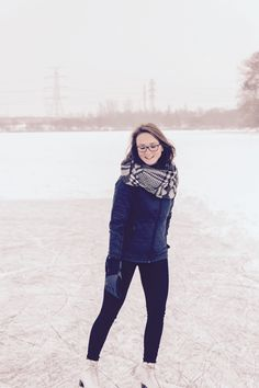 Ice-skating with smile 🙂