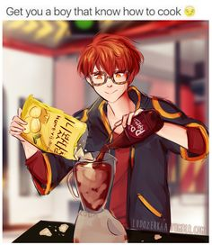 Saeyoung (Luciel/Seven/707/Defender of Justice) | Yaaaasss, Seven knows what's up.
