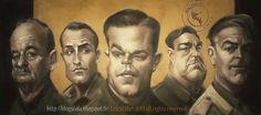 Daniela Scarel: Eric Scala 2014 Caricatures - Part. I