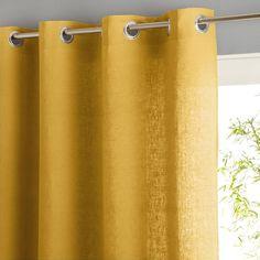 Rideau lin lavé œillets, private Am.Pm | La Redoute