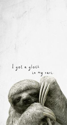 FREE: Sloth I got a block in my Rari phone background wallpaper by Rene Blooms