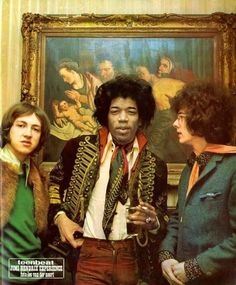The Jimi Hendrix Experience - March 1967 Amsterdam Band Of Gypsys, Hey Joe, Stevie Ray Vaughan, Looks Street Style, Janis Joplin, Afro Punk, Chris Cornell, Rock Legends, Def Leppard