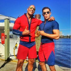 b7a02ebe72 Zac Efron, Dwayne 'The Rock' Johnson Are Filming New 'Baywatch' Movie In  Boca Raton, Deerfield Beach