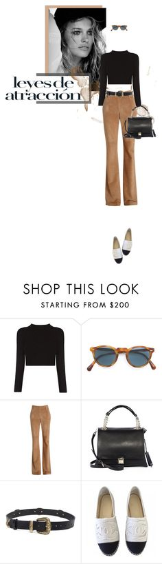 """""""coffee kisses"""" by loveforfinesse ❤ liked on Polyvore featuring Oliver Peoples, Miu Miu, Magda Butrym, Chanel and falltrend"""