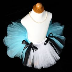 Girls Alice in Wonderland Tutu...Birthday Tutu, Halloween Costume...10 inch length...Sizes 2T 3T 4T 5/6 7/8 . . . ALICE. $32.00, via Etsy.