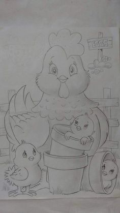 Art Drawings For Kids, Pencil Art Drawings, Bird Drawings, Art Drawings Sketches, Easy Drawings, Animal Drawings, Coloring Book Art, Cute Coloring Pages, Painting Patterns