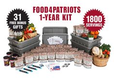 Enter http://www.patriotheadquarters.com/giveaways/food4patriots-survival-food-sweepstakes-spring/?lucky=29253 for the Patriots Headquarters Blog Food4Patriots Survival Food Kit (1800 meals + bonuses) #giveaway #FreeFood