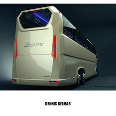 bus design render