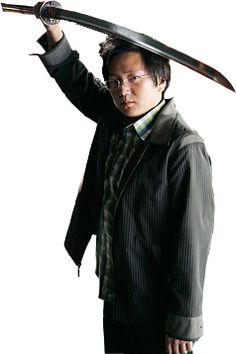 Hiro Nakamura from Heroes. Aspiring superhero samurai. I still miss this show.