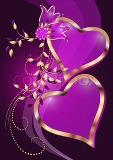 Illustration of Card with decorative hearts and stars vector art, clipart and stock vectors. Flower Background Wallpaper, Heart Background, Flower Phone Wallpaper, Heart Wallpaper, Butterfly Wallpaper, Love Wallpaper, Flower Backgrounds, Beautiful Love Images, Beautiful Rose Flowers