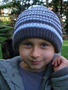 tricoter un bonnet garcon 6 ans