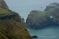 Carrick-a-rede Bridge, Co. Antrim, Nth Ireland. Great information on this bridge if you click on the picture.