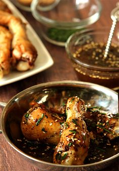 Chicken Wings with Honey and Za'atar