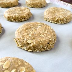 Old Fashioned Oatcakes. Perfect for quick breakfasts or packed lunches, these old fashioned oatcakes can be made plain or with lightly spiced flavour. Scottish Desserts, Scottish Recipes, Scottish Oat Cakes, Tea Cakes, Biscotti, Shortbread, Brunch Recipes, Breakfast Recipes, Dessert Recipes