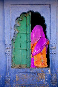 Hindu Village Woman in Rajasthan