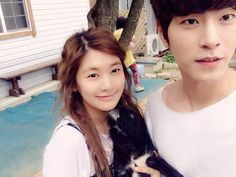 Jung So Min with Hong Jong Hyun
