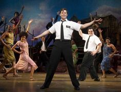 The Book of Mormon. Irreverent, funny and quite musical!