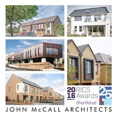 5 projects shortlisted for RICS Awards - John McCall Architects
