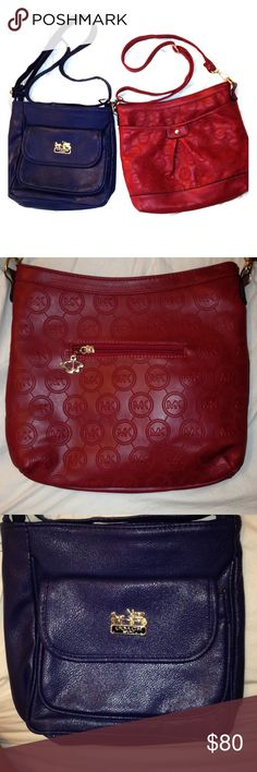 SALE! Bundle coach&mk. Price firm Very cute and fashionable. Price reflects authenticity Michael Kors Bags Crossbody Bags