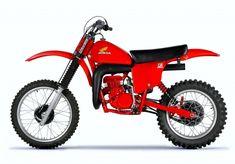 Motocross Vintage, Retro Motorcycle, Motorcycle Garage, Mx Bikes, Sport Bikes, Cool Bikes, Honda Dirt Bike, Honda Motorcycles, Dirt Biking