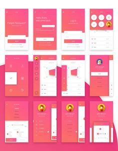 Material Design Mobile UI Kit by Creative Form Studio on @creativemarket