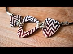 Motif Chevron -  quick and fast #Polymer #Clay #Tutorials