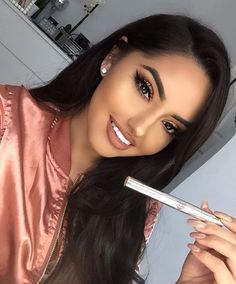 Just a Pretty Face Makeup Done Right Flawless Makeup, Gorgeous Makeup, Love Makeup, Pretty Makeup, Latest Braided Hairstyles, Box Braids Hairstyles, Makeup Goals, Makeup Tips, Hair Makeup