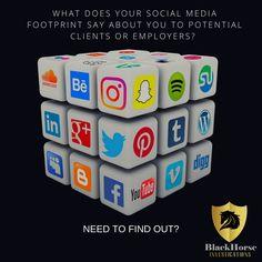 Social media investigations by Blackhorse Investigations Tucson Private Investigator