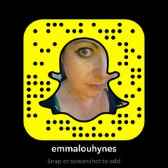 On Snapchat? Me too! Add me 😉